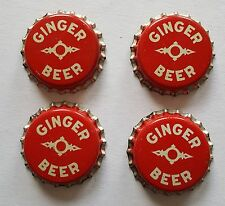 Vintage Ginger Beer cork lined bottle cap Langdon Co Bemidji MN