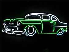 "New Vintage Old Car Garage Neon Sign 18""x14"""