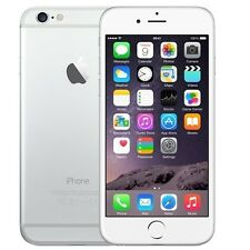 APPLE IPHONE 6 16GB WHITE SILVER 4G FACTORY UNLOCKED SIM FREE SMARTPHONE GRADE A