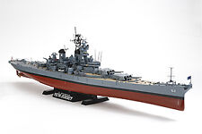 78028 TAMIYA NEW JERSEY BATTLESHIP WITH DETAIL PARTS 1/350th PLASTIC KIT SHIP