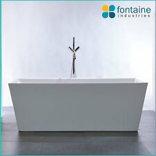 1700 Mayfair Freestanding Bath Tub Bathtub Square Elegant Bathroom NEW!