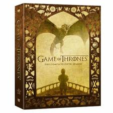 GAME OF THRONES The Complete Fifth Season 5 NEW DVD