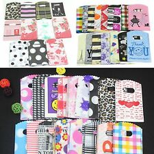 COOL 50pcs Wholesale  Pretty Mixed Pattern Plastic Gifts Mini Bags Shopping Bags