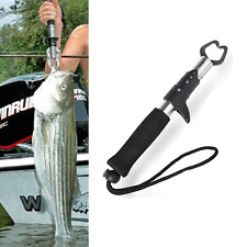 Portable Stainless Steel Fishing Fish Lip Gripper Grabber Fishing Tackle Too US