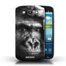 Stuff4 Hülle/Case für Samsung Galaxy S3/SIII/Gorilla / Affe/Wilde Tiere