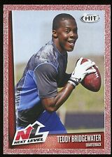 2014 SA*GE HIT #75 RED BORDER TEDDY BRIDGEWATER *ROOKIE CARD* - FREE SHIPPING