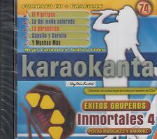 LOS PLEYBOS MISTER CHIVO TROPICAL PANAMA INMORTALES 4   KARAOKE New Sealed