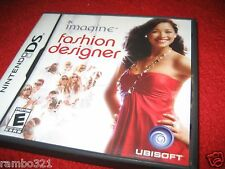 Imagine: Fashion Designer  (Nintendo DS, 2007) educational girls video game