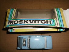 MOSKVITCH  1.43 SALOON CAR MADE IN USSR BOXED