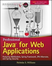 Professional Java for Web Applications by Nick Williams (2014, Paperback)