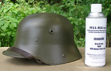 German WWI Graugrün M16 Helmet SPRAY PAINT! Helmet Is NOT FOR SALE!