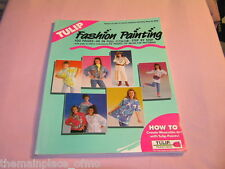 Tulip Fashion Painting How To Create Wearable Art With Tulip Paints