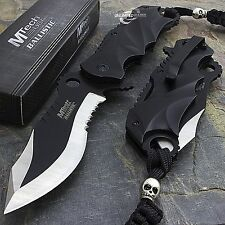 """MTECH USA 8"""" SPRING ASSISTED FOLDING TACTICAL POCKET KNIFE Blade Assist Open EDC"""
