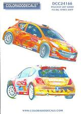 Colorado Decals 1/24 PEUGEOT 207 S2000 #8 IRC YPRES 2009
