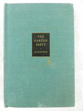Katherine Mansfield THE GARDEN PARTY Modern Library c.1922