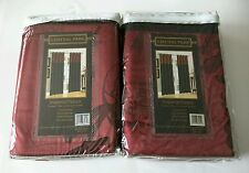 "Imperial Palace Two Window Panels *50"" X 84"" LINED PANEL*  ""NEW"""