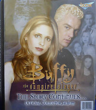 Buffy The Story Continues Binder, A1 Album cards Plus all 4 promo Cards by Ikon