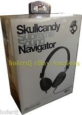 Skullcandy Supreme Sound Navigator Black On The Ear Headsets Headphones Mic3