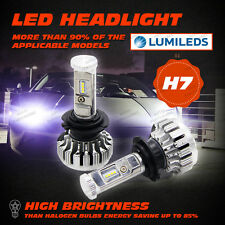 2 XH7 150W 20000LM LED Headlight Conversion Kit Car Beam Bulb Driving Lamp 6000K