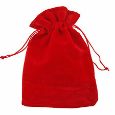 """10pcs Small 2.7""""x3.5"""" Velvet Bags Jewelry Wedding Party Gift, Drawstring Pouches"""