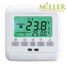 C08 Digital Unterputz Thermostat mit externem Bodenfühler für Fußbodenheizung