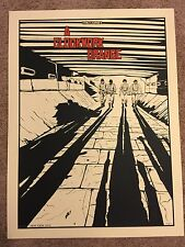 New Flesh N.E. Movie Art Print Poster Mondo A Clockwork Orange Stanley Kubrick