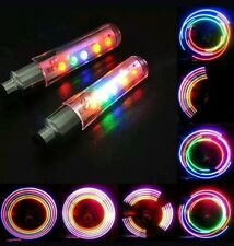 2 X RAINBOW Bicycle Bike Tire Wheel Valve stem RIM lights 4 Cycling USA Seller:)