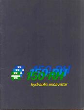 Ruston Bucyrus 150-RH hydraulic Excavator sales book