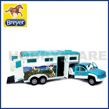 NEW BREYER HORSES PICK UP TRUCK & GOOSENECK HORSE TRAILER 1:32 STABLEMATES