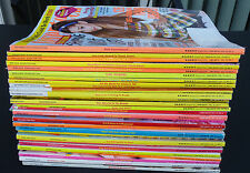 Seventeen 17 magazine lot October 2011 to September 2014 almost complete run!