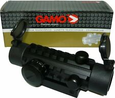 Gamo Airgun Rifle Red&Green Dot Sight / Airsoft Riflescope Fits 11-22mm Rails
