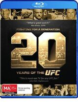 UFC - Fighting For A Generation - 20 Years Of The UFC (Blu-ray, 2014) Brand New