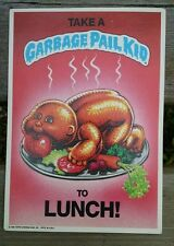 Garbage Pail Kids To Lunch! Award Sticker, 1986 Topps, Most Unlikely To Succeed