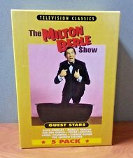 The Milton Berle Show : Guest Stars  (5 Pack VHS)    LIKE NEW
