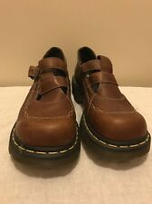 Dr. Martens Brown Mary Jane Shoes Style 2B94 US Women's Sz 8 Excellent Condition