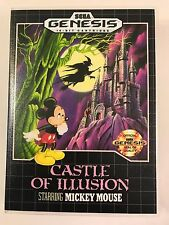 Castle of Illusion - Sega Genesis - Replacement Case - No Game