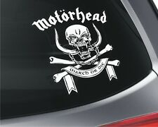 Motorhead x2 Car Window Vinyl Stickers _ Music _ Rock  _ English Band