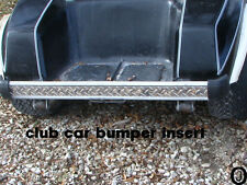 Club Car Golf Cart Diamond Plate Rear Bumper Insert