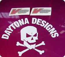 V60 RSV MILLE RED SILVER GOLD FAIRING CUSTOM PAIR GRAPHICS DECALS STICKERS