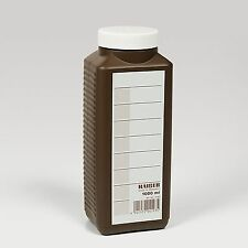 KAISER 4193 1 LITRE 1000CC PHOTOGRAPHIC CHEMICAL STORAGE BOTTLE BROWN