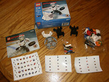 LEGO Sports 10127 NHL Hockey Action Set Slammer Stickers Retired Unused COMPLETE
