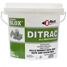 Ditrac All Weather Blox Mice Rats 1-4# Pail Bell Labs DI4021