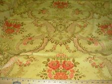 "~BTY~FABRICUT~VELVET VICTORIAN ""ANSLEY HONEY""~VELVET UPHOLSTERY FABRIC FOR LESS~"