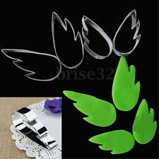 4PCS Stainless Steel Fly Wing Biscuit Cookie Cutter Fondant Cake Mold Mould Set