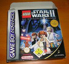 Nintendo Gameboy Advance Lego Star Wars II Die klassische Trilogie Spiel