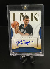 2013-14 Panini Immaculate INK #71 Kevin Love AUTO #'d/60