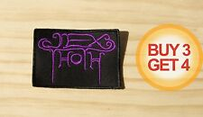 JEX THOTH PP PATCH BUY3 GET4,BLOOD CEREMONY,PAGAN ALTAR,THE DEVIL'S,WITCHCRAFT