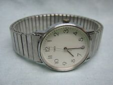 Men's Vintage Easy Reader TIMEX Water Resistant Watch w/ New Battery