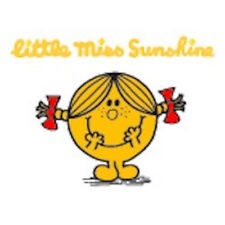 Mr men et little miss carte de vœux: little miss sunshine-neuf sous cello