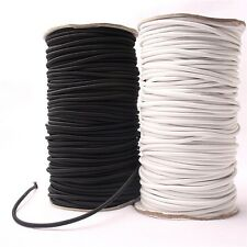 10M*4mm Black Strong Elastic Bungee Rope Shock Cord Tie Down DIY Jewelry Making